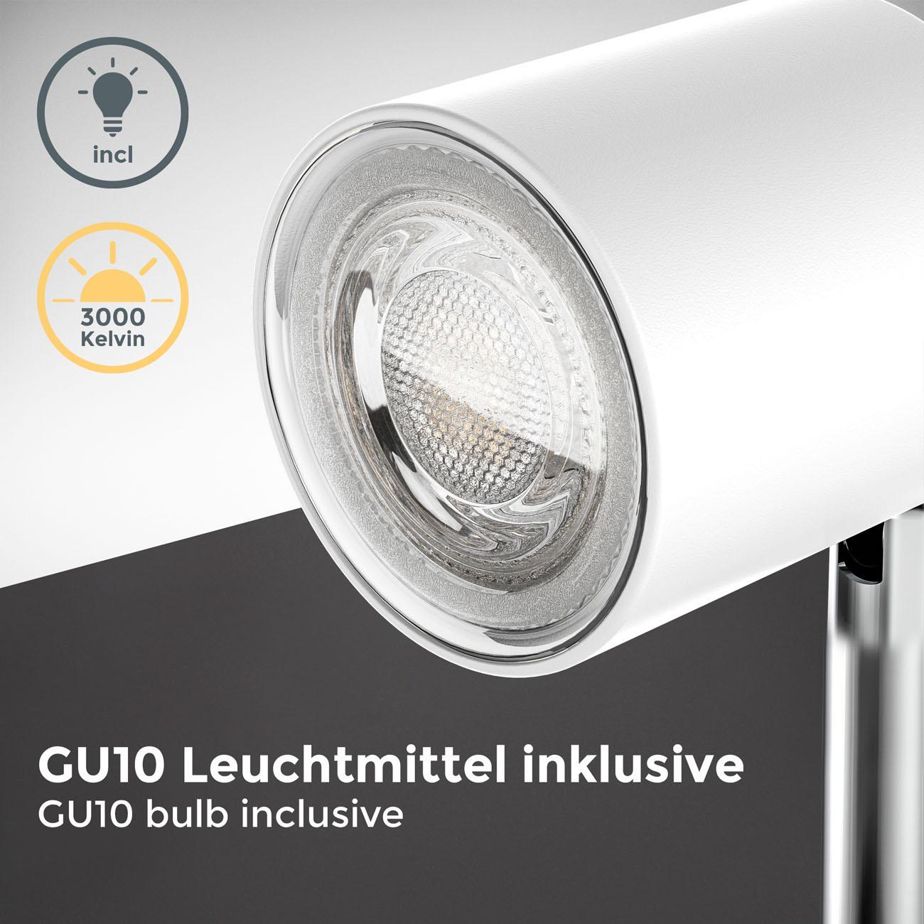 LED Klemmleuchte matt-weiß - 5