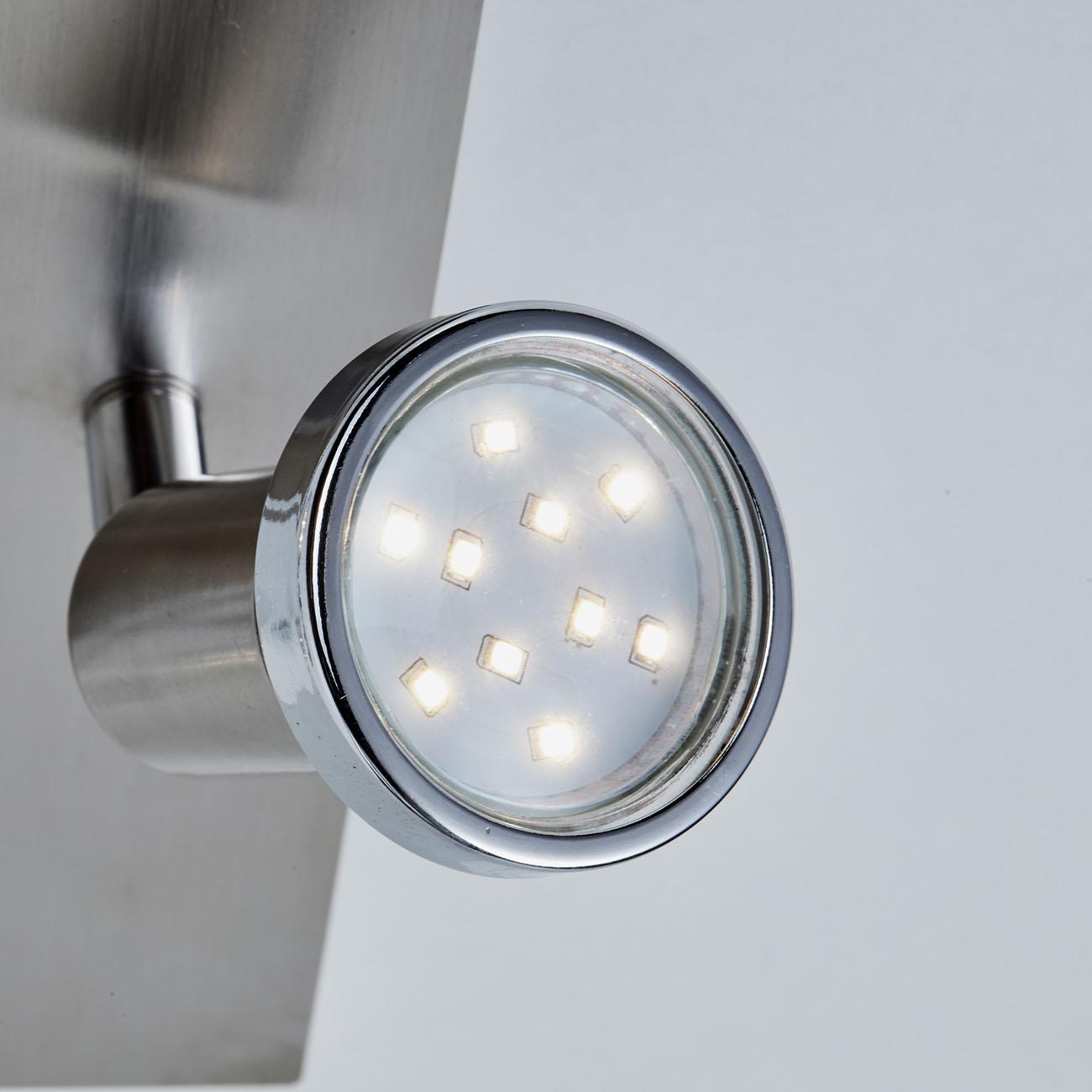 LED Kombi Deckenleuchte Spotleuchte 4-flammig  - 5