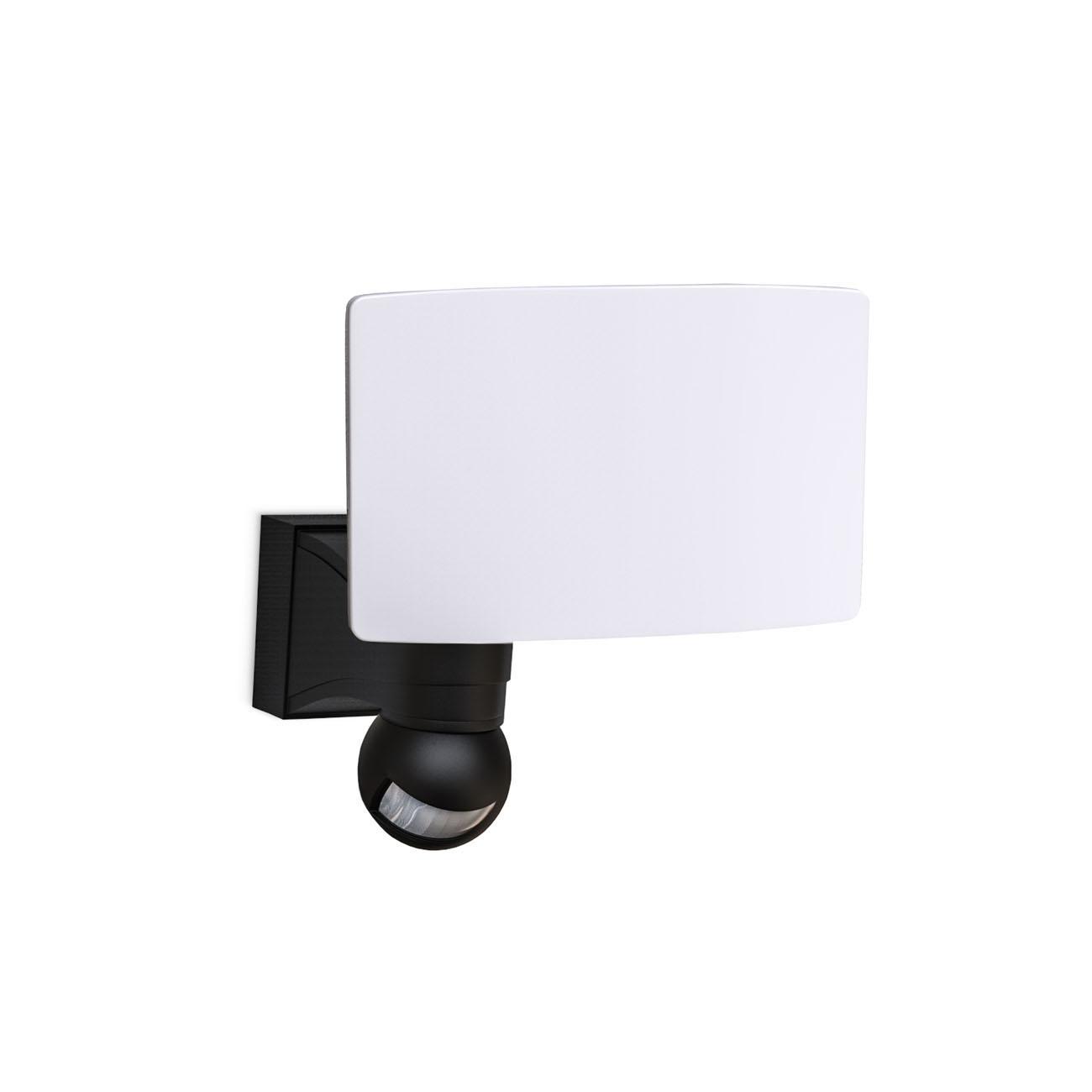 LED Außenleuchte mit Bewegungssensor schwarz