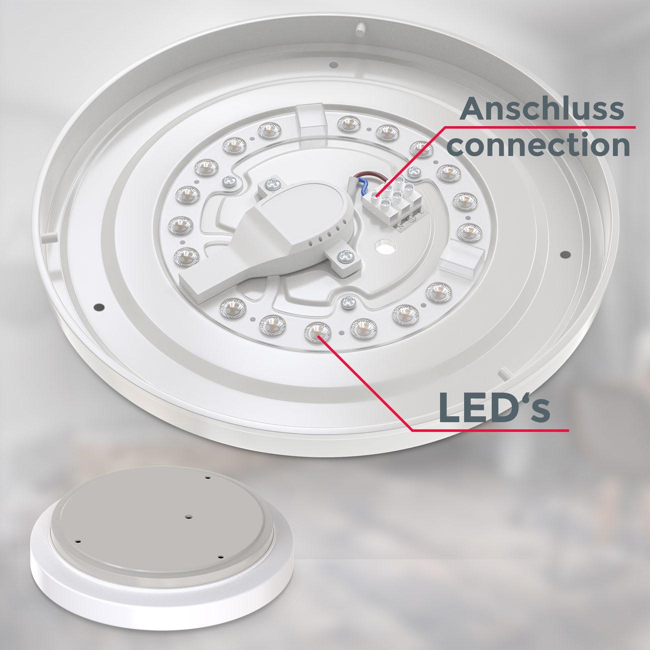 LED Deckenleuchte Badlampe IP44 M - 7