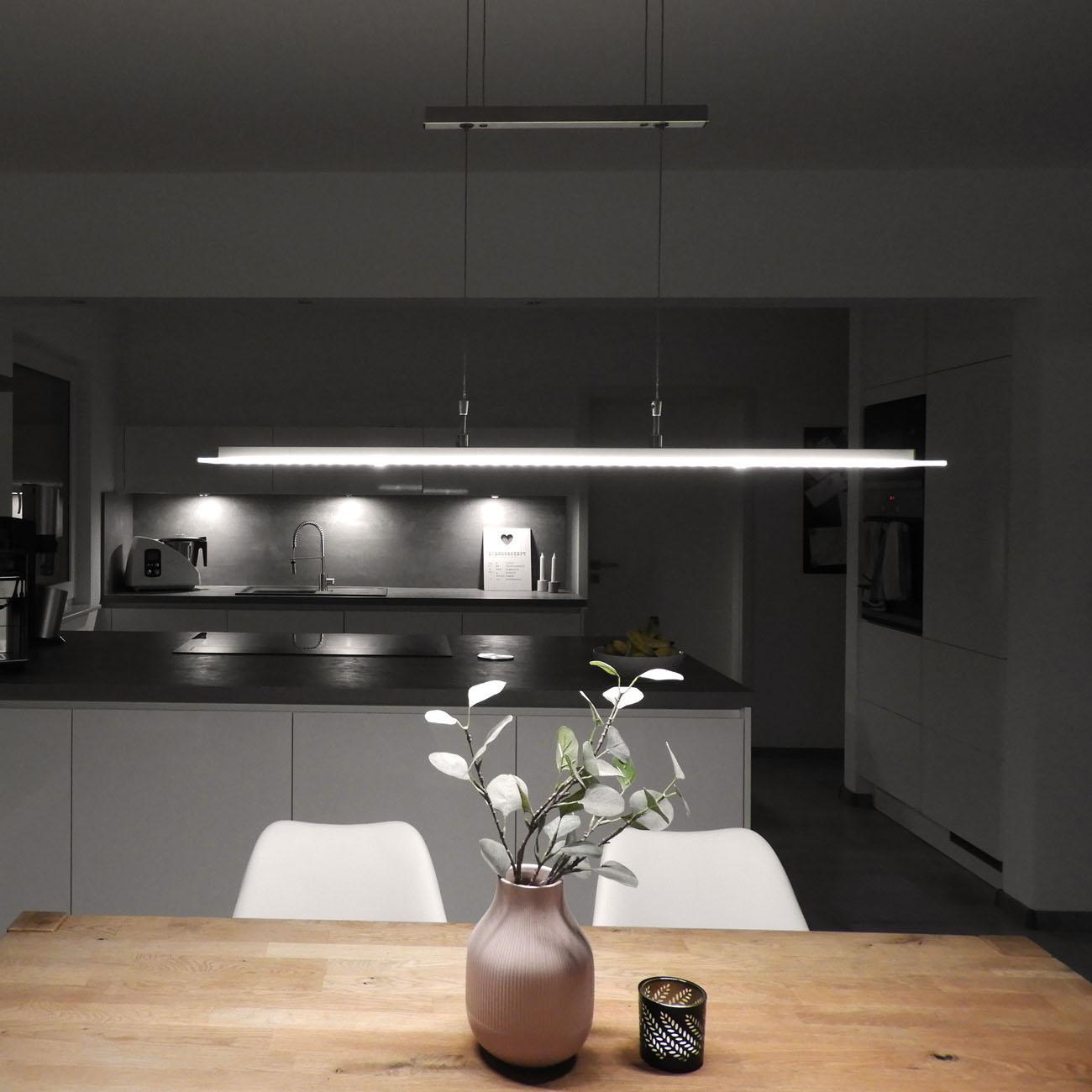LED Pendelleuchte mit Touchdimmer