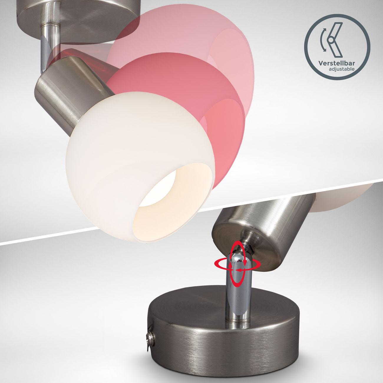 LED Deckenstrahler Deckenspot mit Opalglas - 4