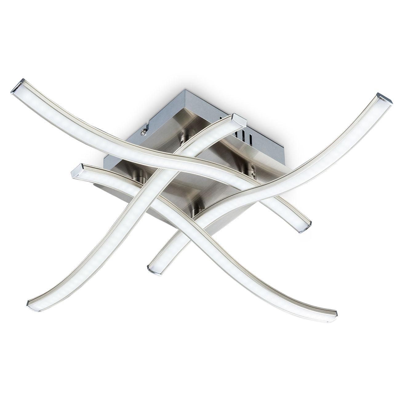 LED Design Deckenleuchte Wellenform 4-flammig  - 1