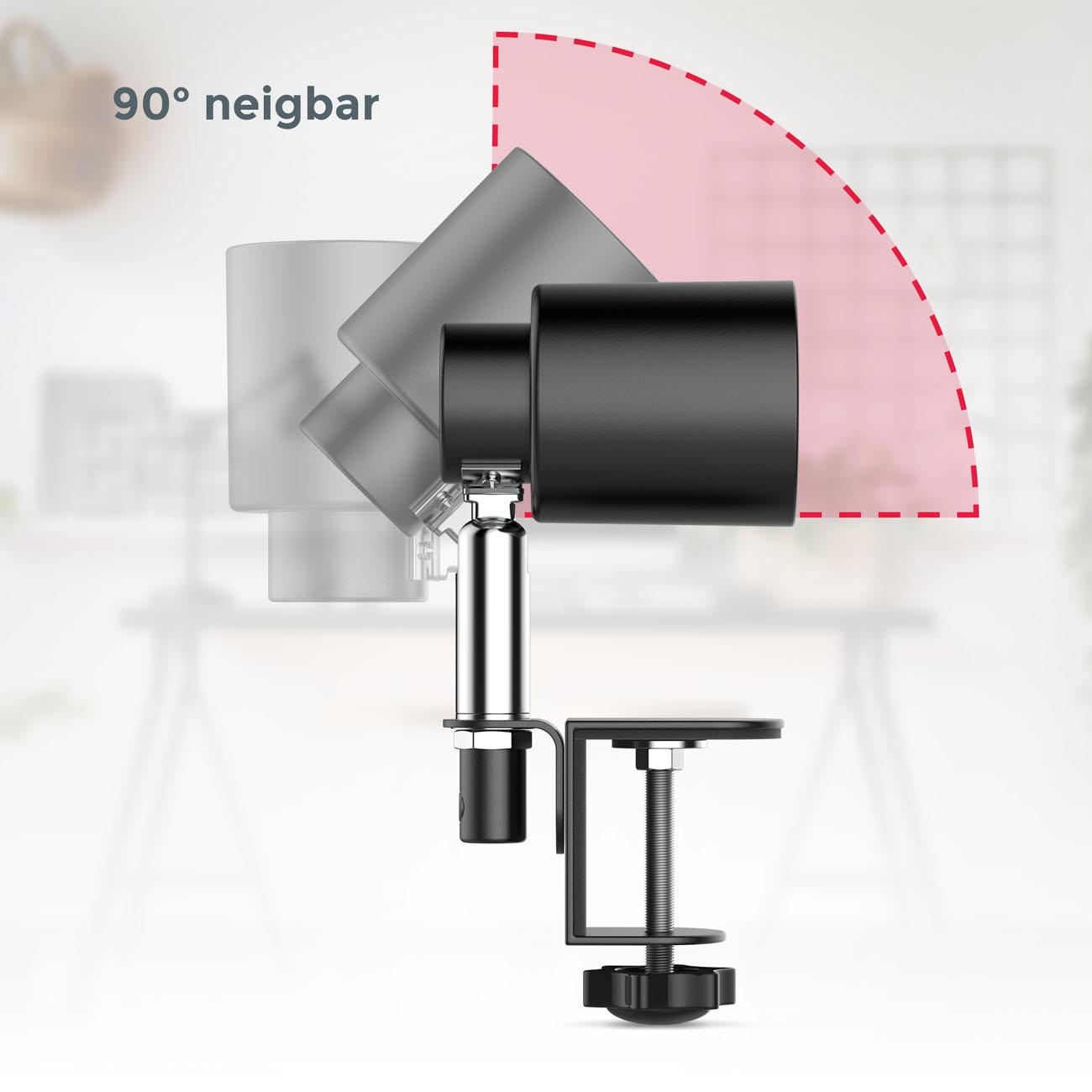 LED Klemmleuchte schwarz - 6