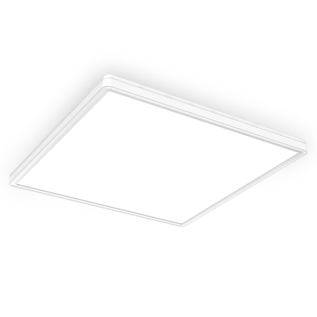 LED Panel mit Backlight-Effekt ultra-flach weiß XL