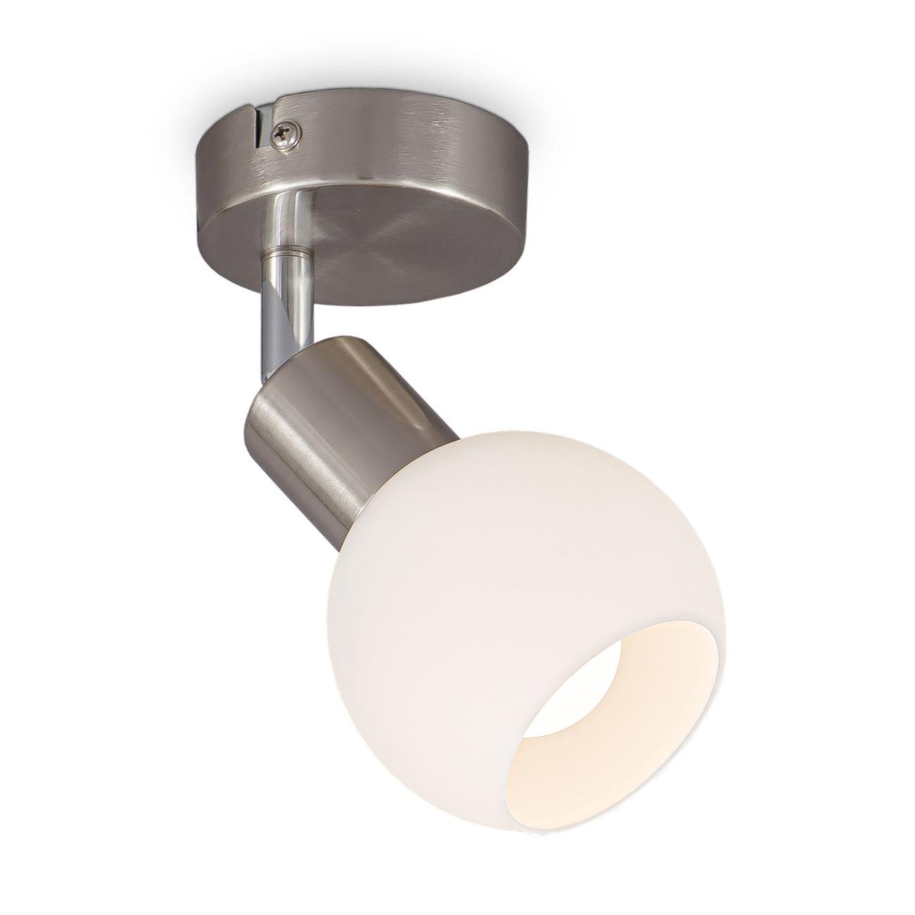LED Deckenstrahler Deckenspot mit Opalglas