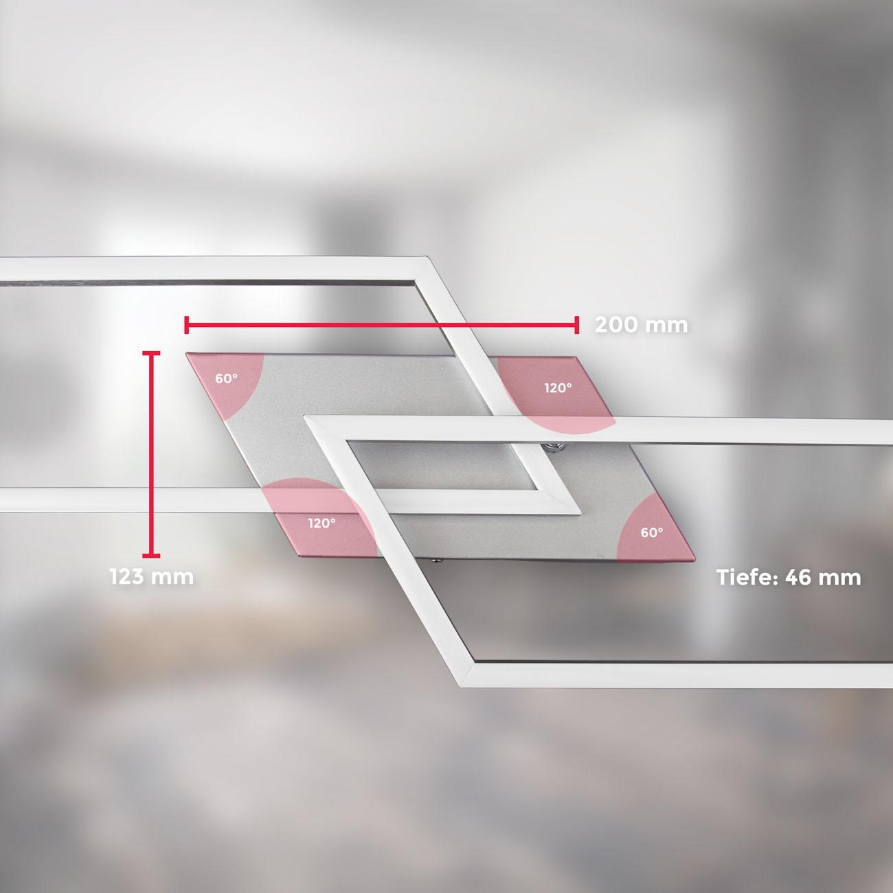 CCT LED Deckenleuchte mit Farbwechsel schwenkbar - 8