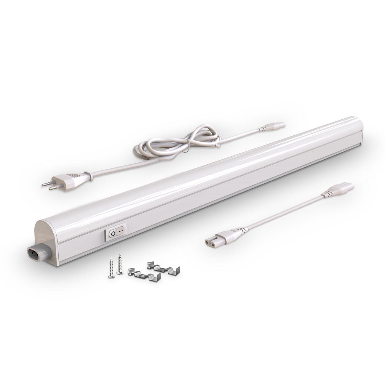 LED Unterbauleuchte mit Verbindungskabel weiß M