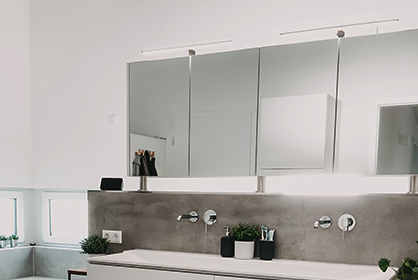 Moderne Badleuchten entdecken