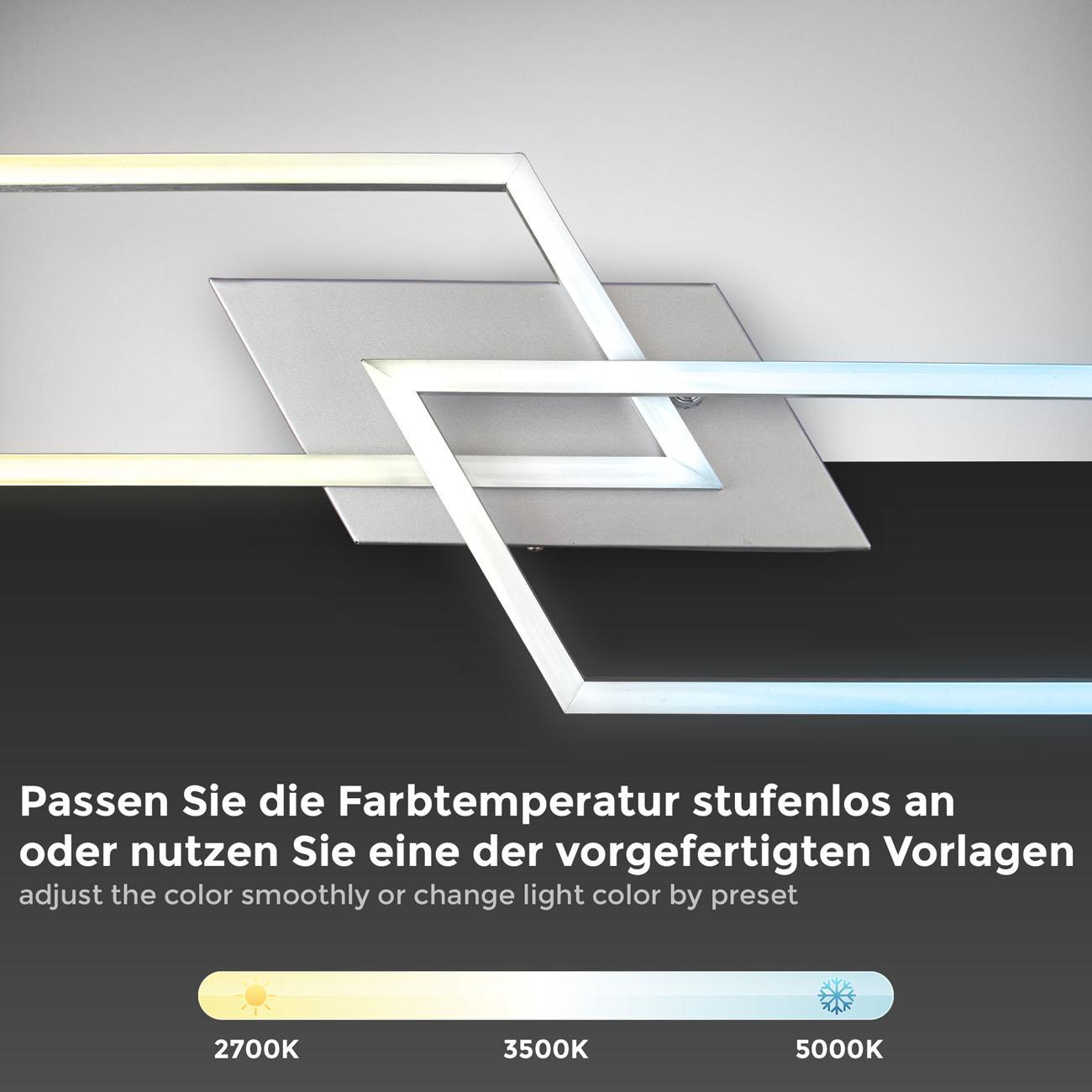 CCT LED Deckenleuchte mit Farbwechsel schwenkbar - 4