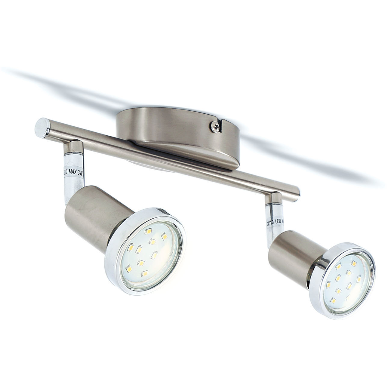 LED Deckenstrahler 2-flammig - 1