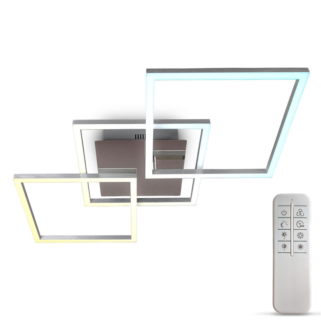 CCT LED Deckenleuchte mit Timer und Nachtlichtfunktion XL