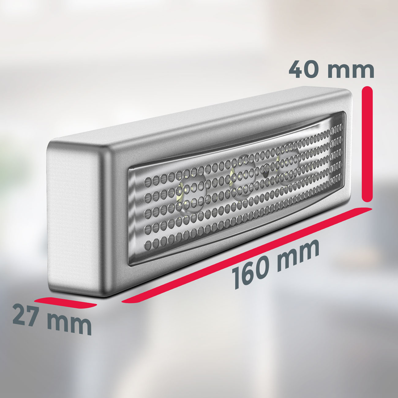 LED Push-Light mit Batteriebetrieb | 2er Set - 4