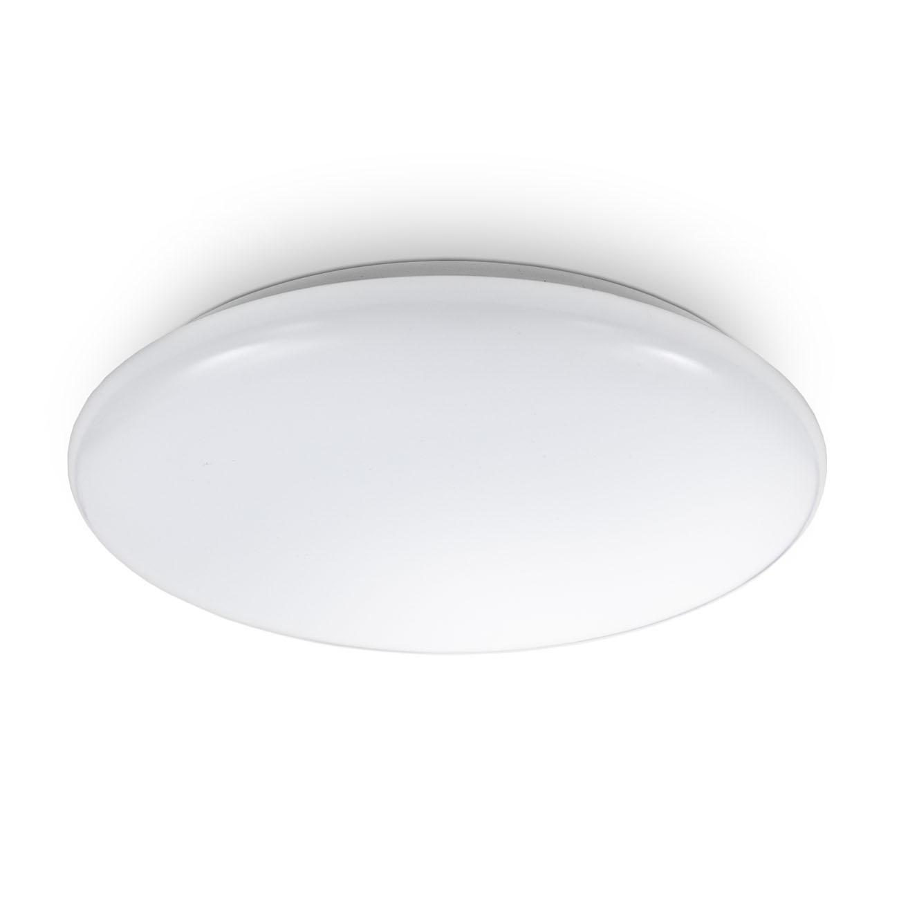 LED Deckenleuchte in weiß rund