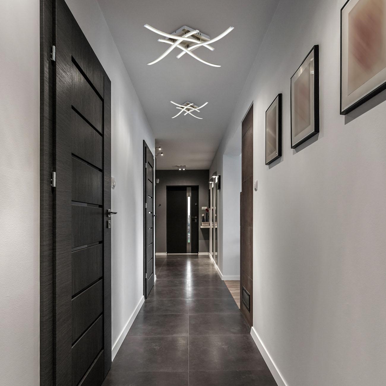 LED Design Deckenleuchte Wellenform 4-flammig  - 2