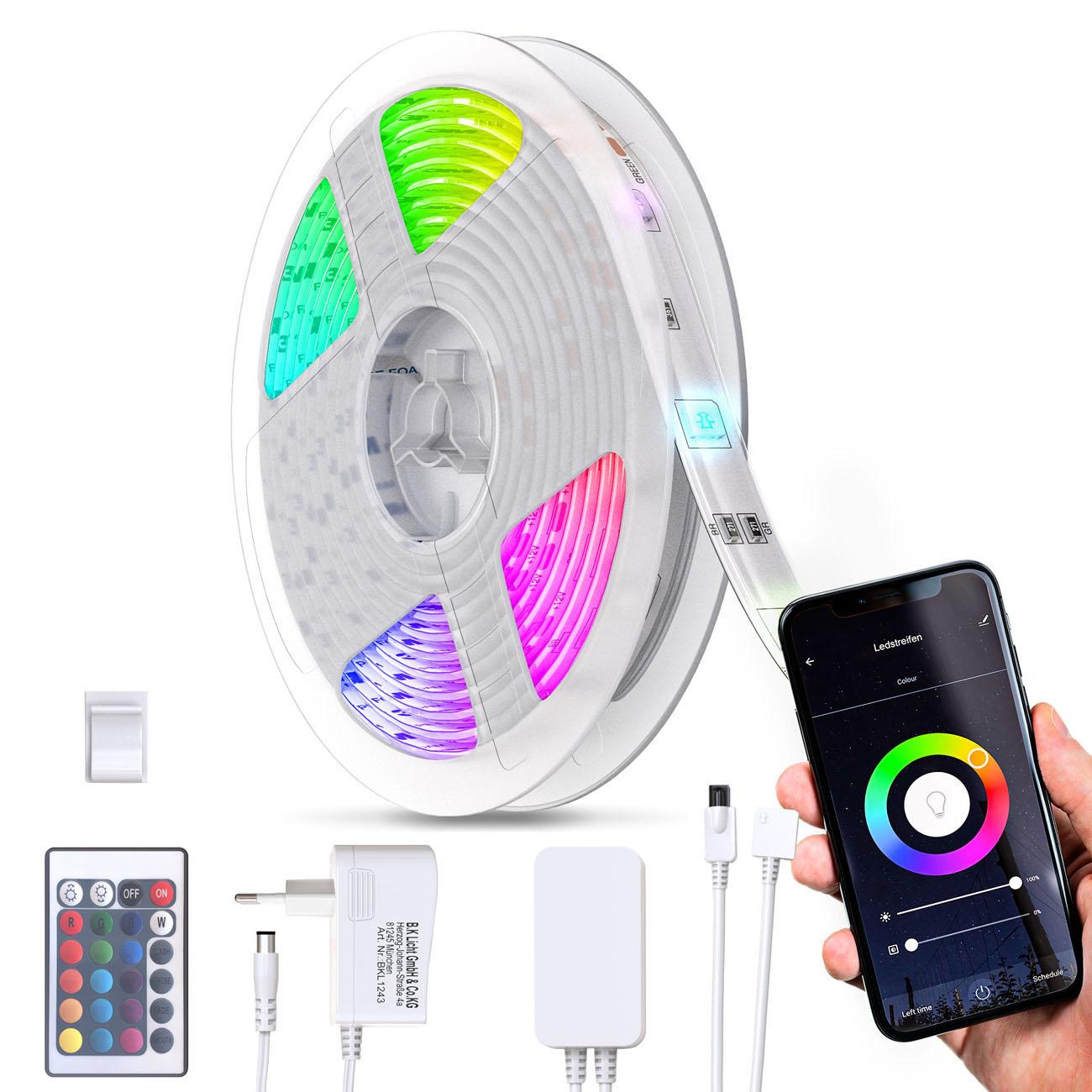 Smart WiFi LED RBG Stripe 5m