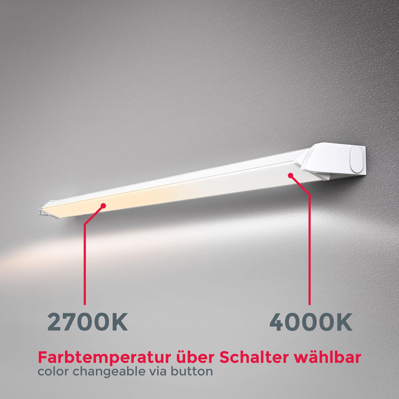 LED CCT Lichtleiste Unterschrankleuchte weiß - 4