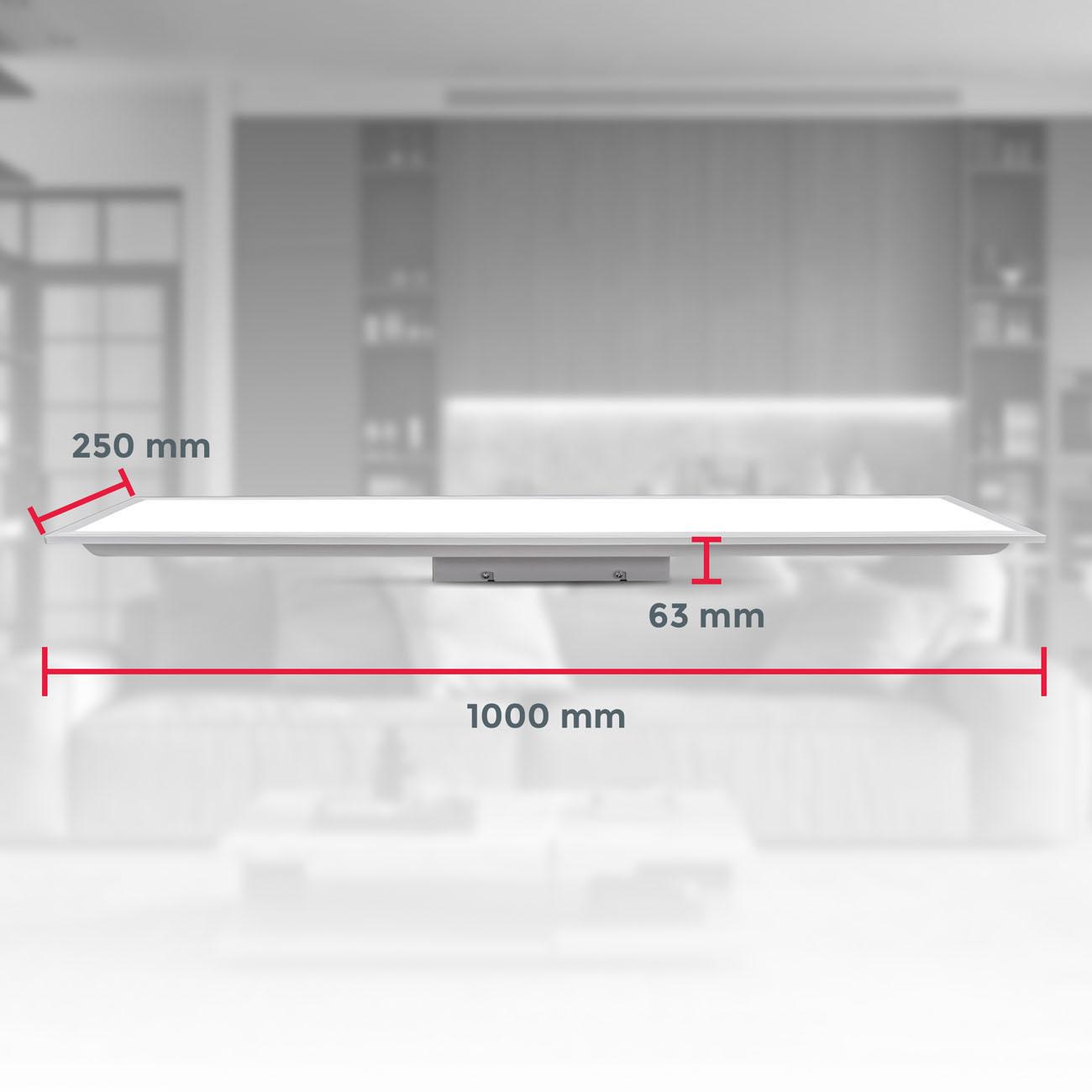 CCT LED Panel ultra-flach weiß - 7