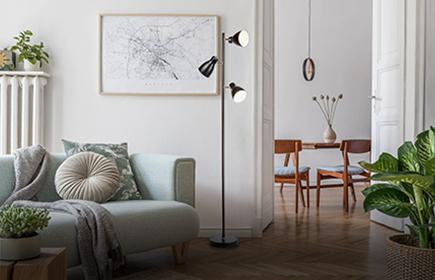 Innenleuchten für das Wohnzimmer im B.K.Licht Online Shop entdecken
