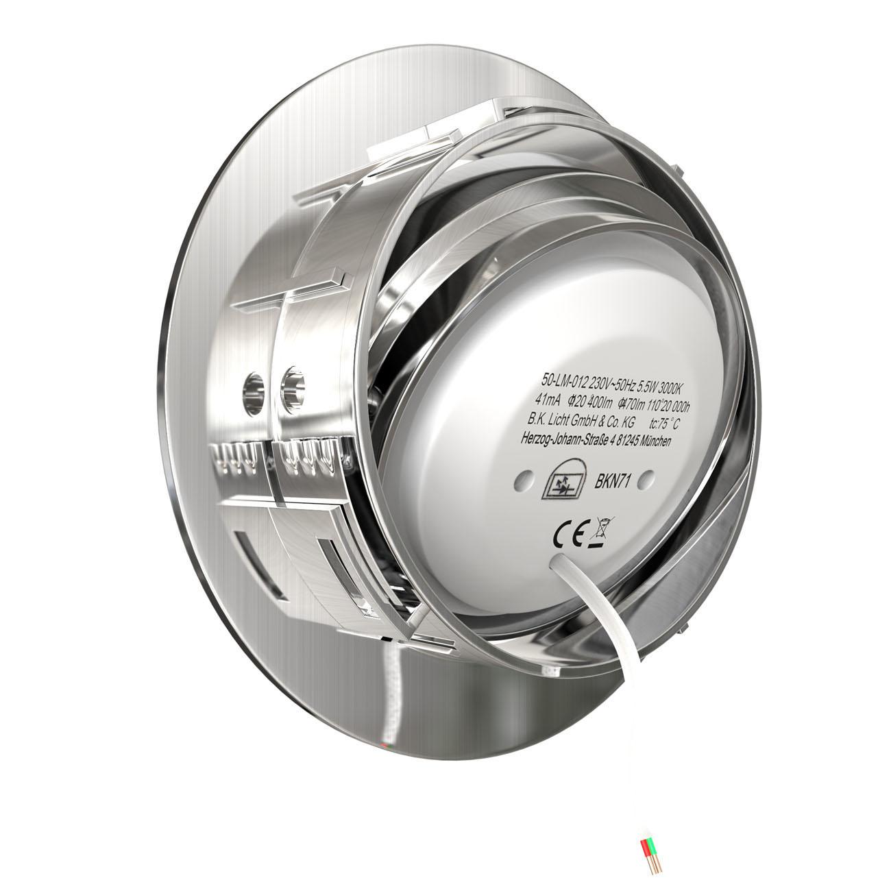 LED Einbaustrahler | Einbauleuchte 5er SET | 5,5W Stufendimmer schwenkbar - 5