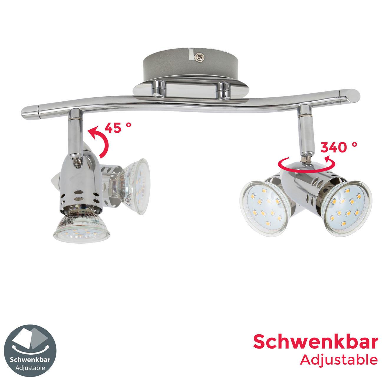 LED Deckenleuchte Spotleuchte GU10 - 4