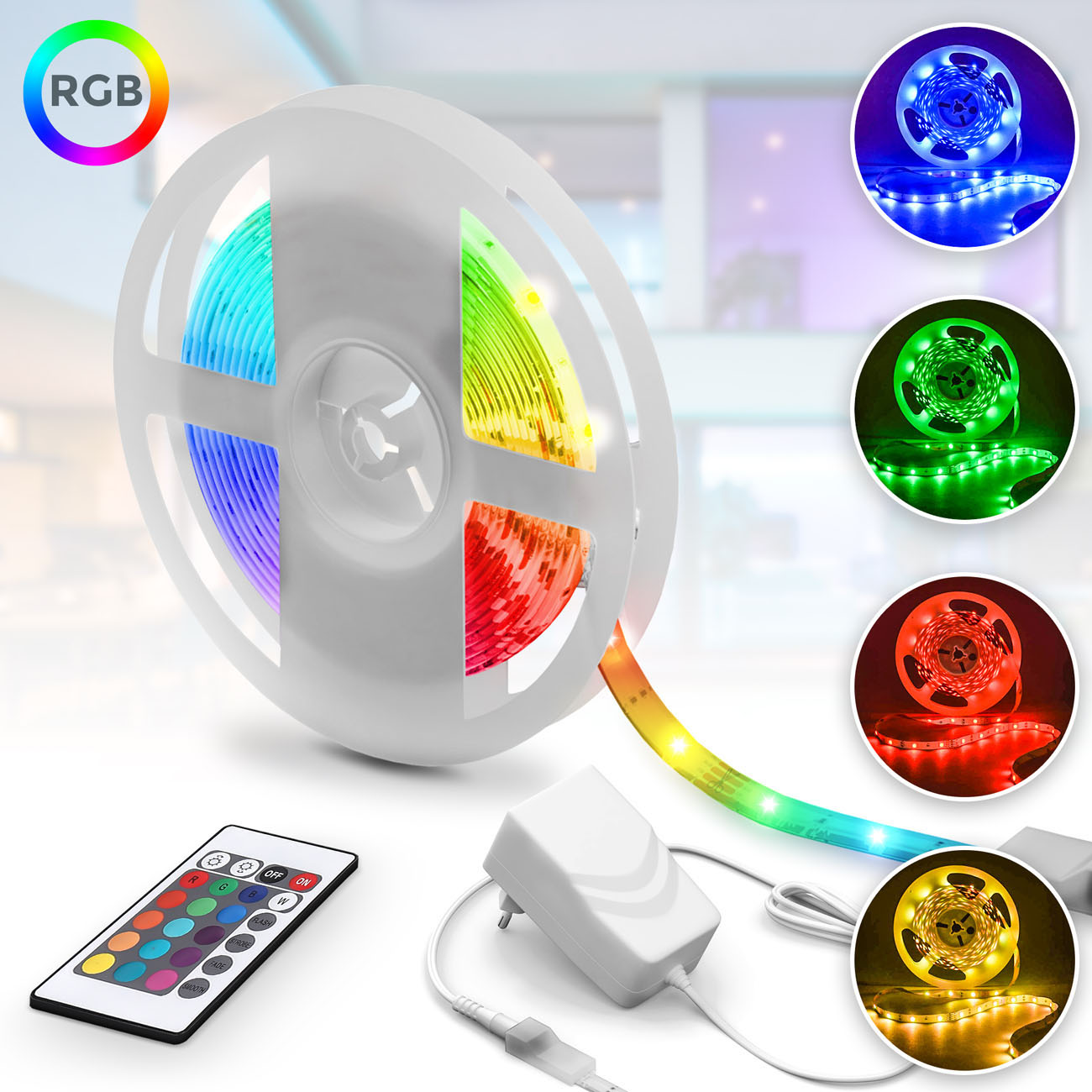 LED Flexband RGB 5m - 3