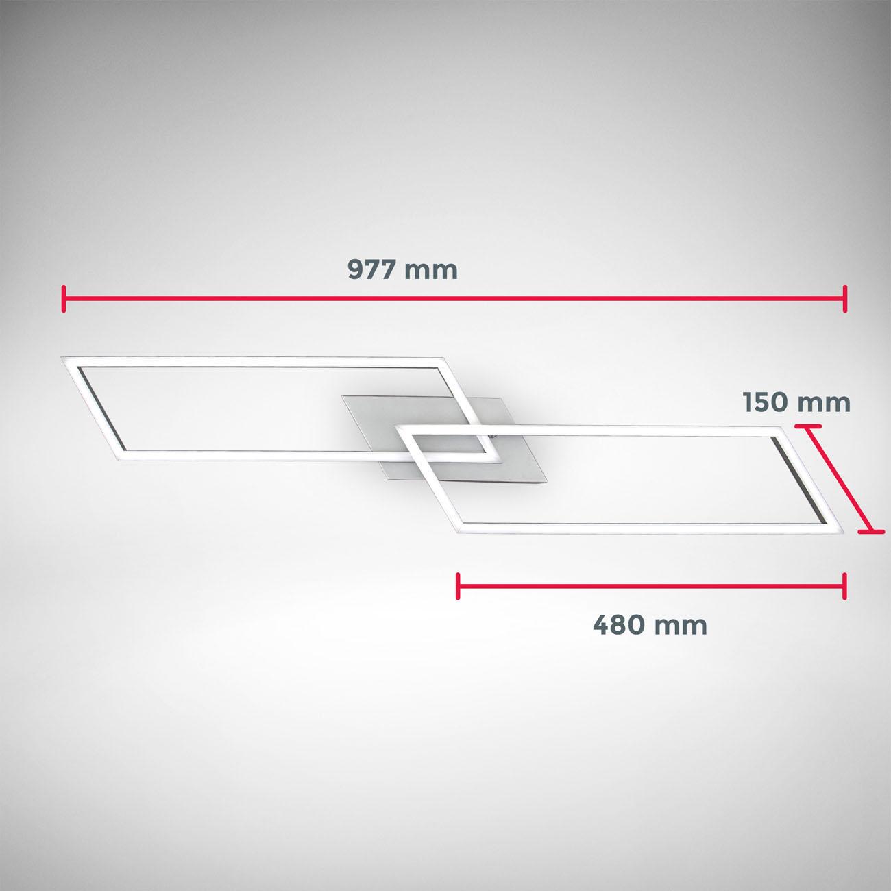 CCT LED Deckenleuchte mit Farbwechsel schwenkbar - 7