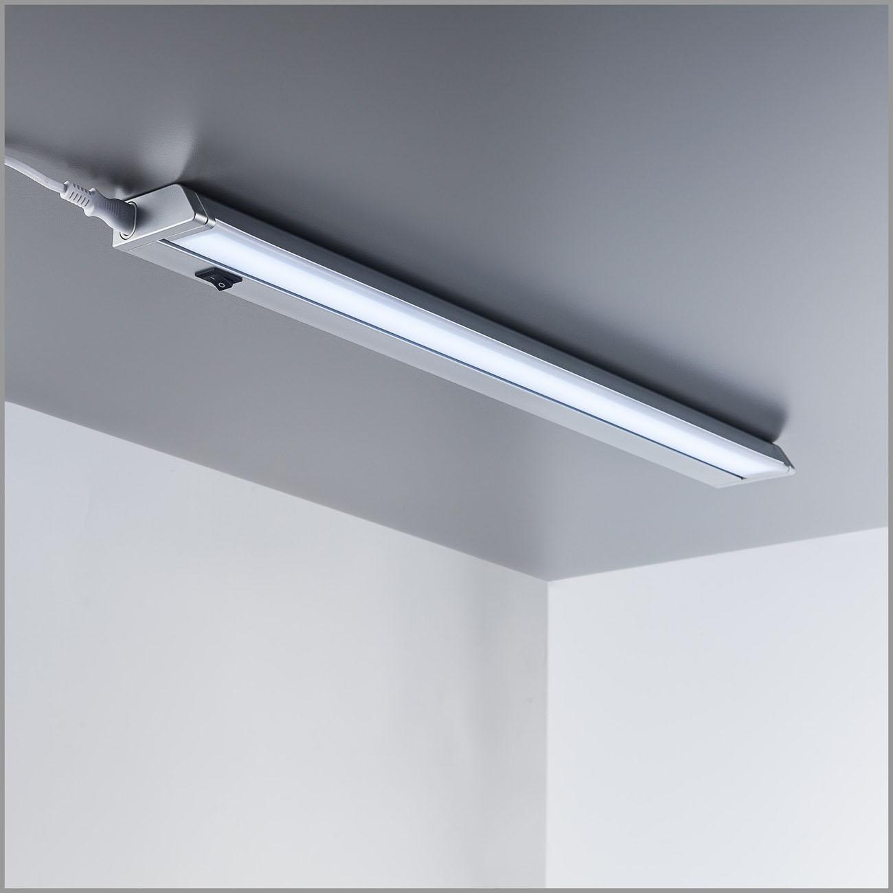 LED Schrankleuchte Unterbauleuchte silber-grau - 5