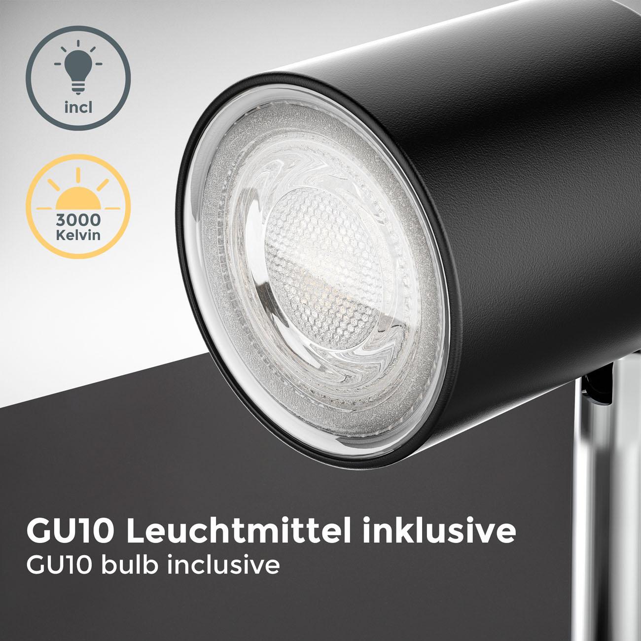 LED Klemmleuchte schwarz - 5