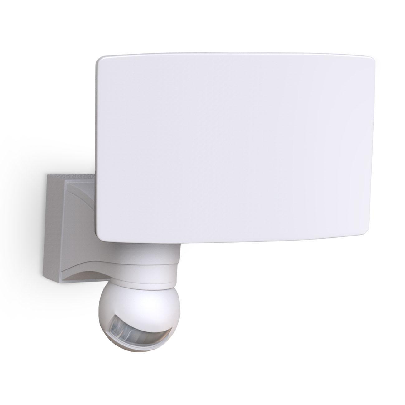 LED Außenleuchte mit Bewegungssensor weiß - 1