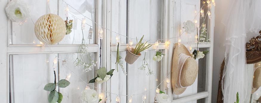Romantisch wohnen: Leuchten entdecken