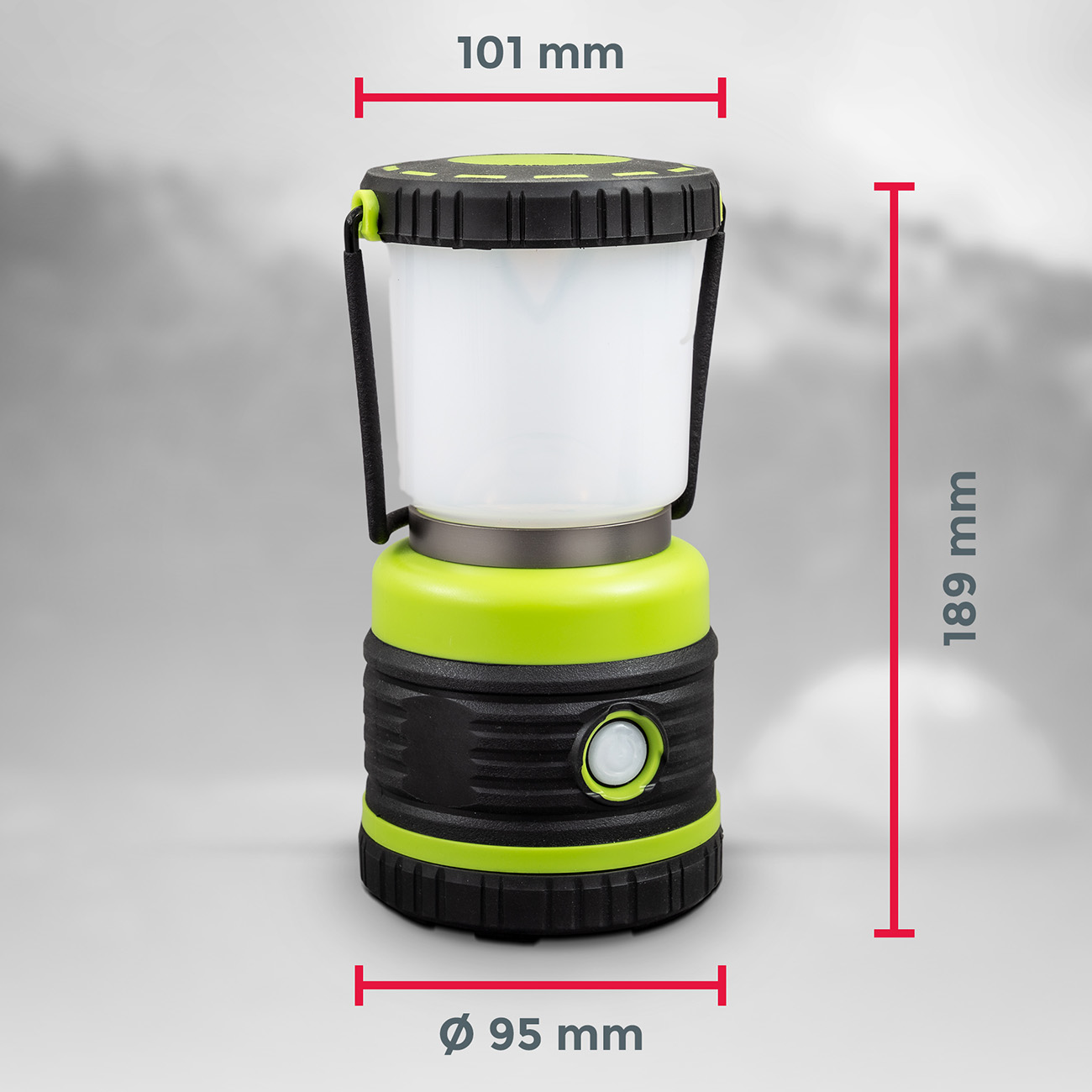 LED Outdoor Campingleuchte mit Tragegriff - 8