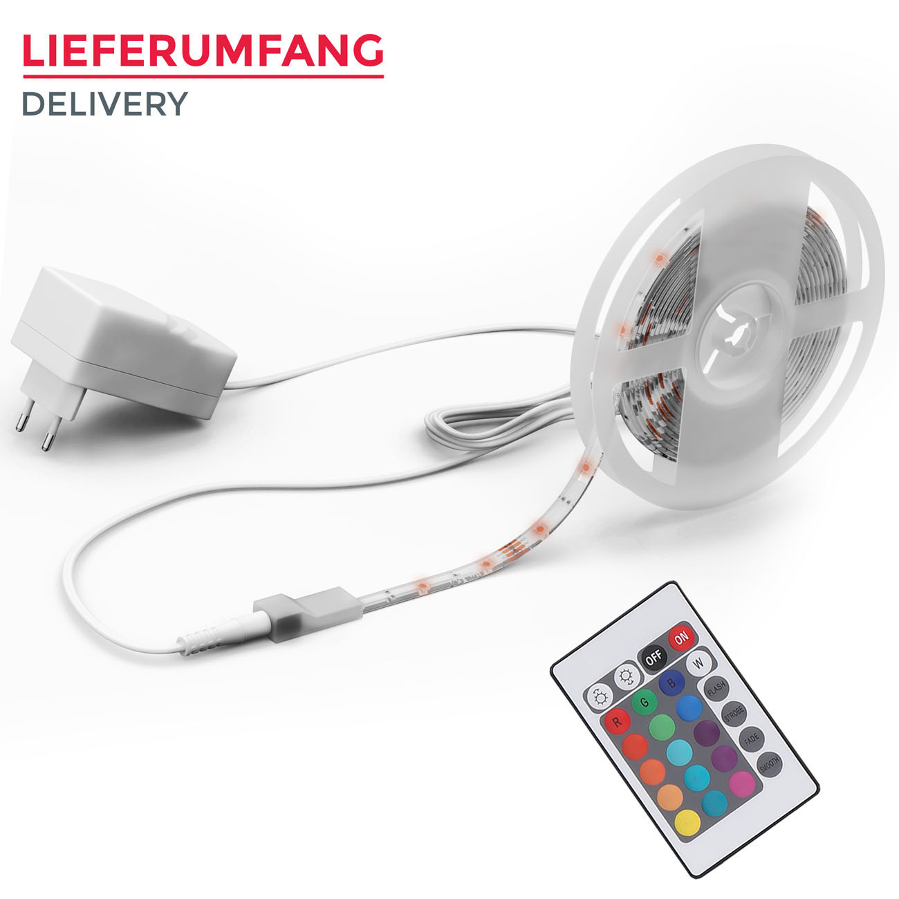 LED Flexband RGB 5m - 6