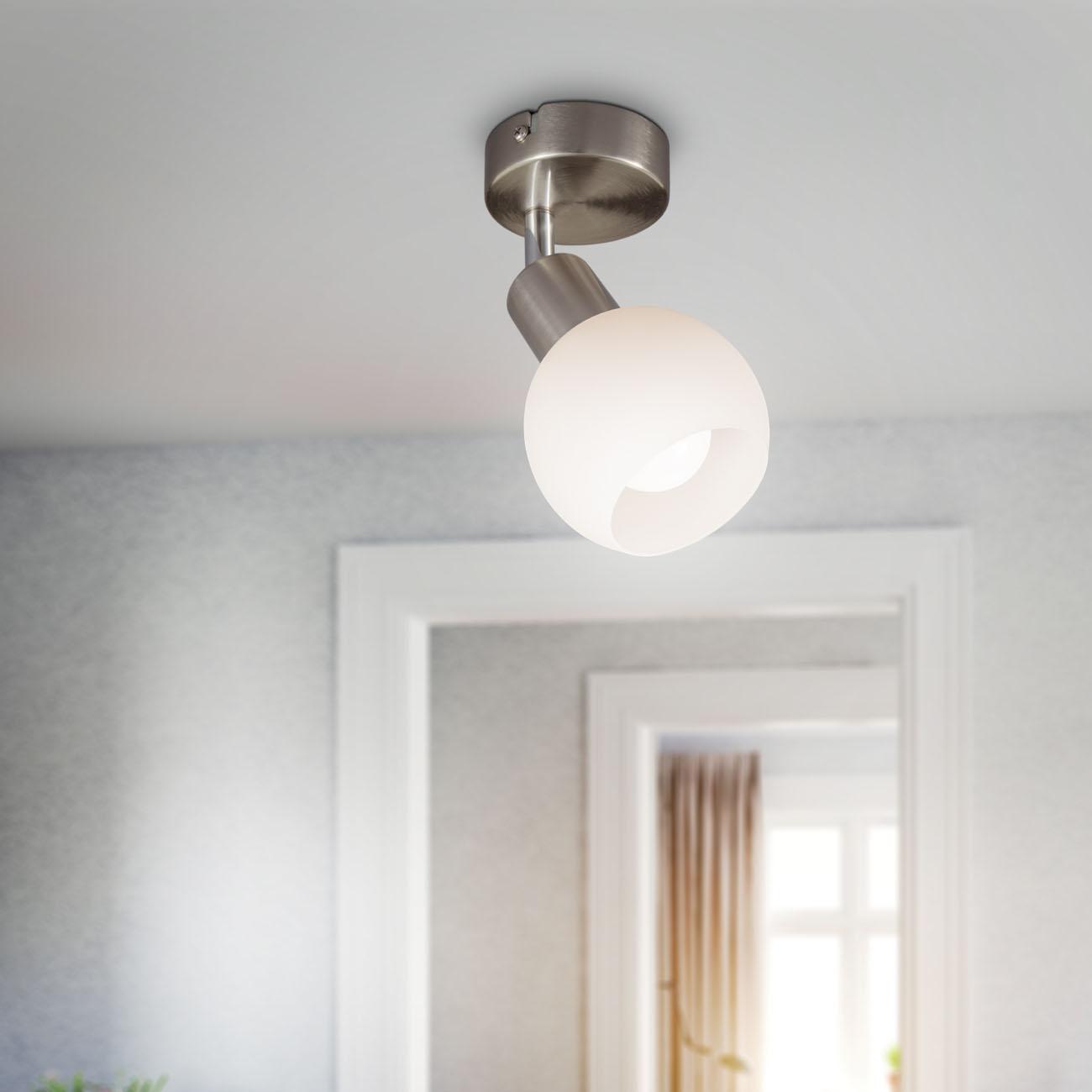 LED Deckenstrahler Deckenspot mit Opalglas - 5