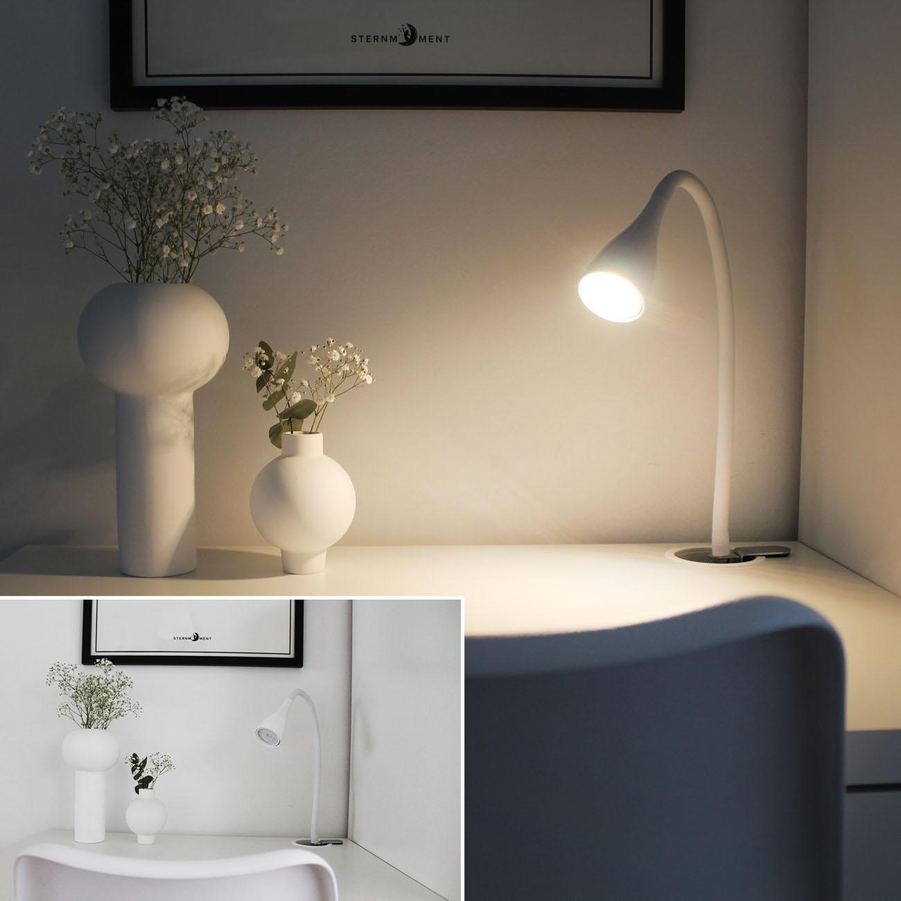 LED Klemmleuchte schwenkbar weiß GU10 - 6