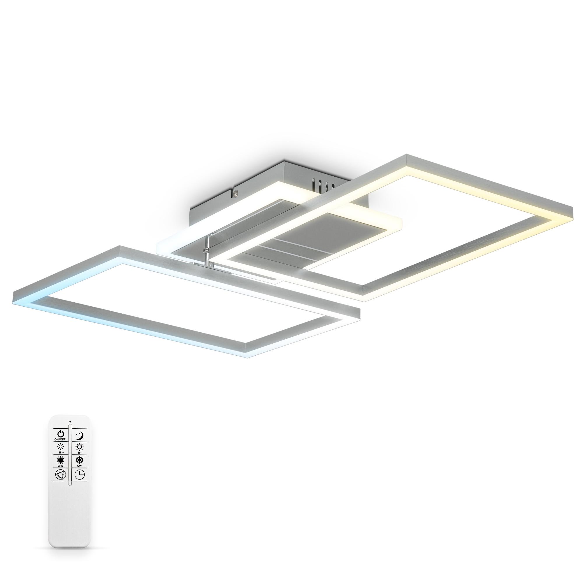 CCT LED Deckenleuchte mit Timer und Nachtlichtfunktion