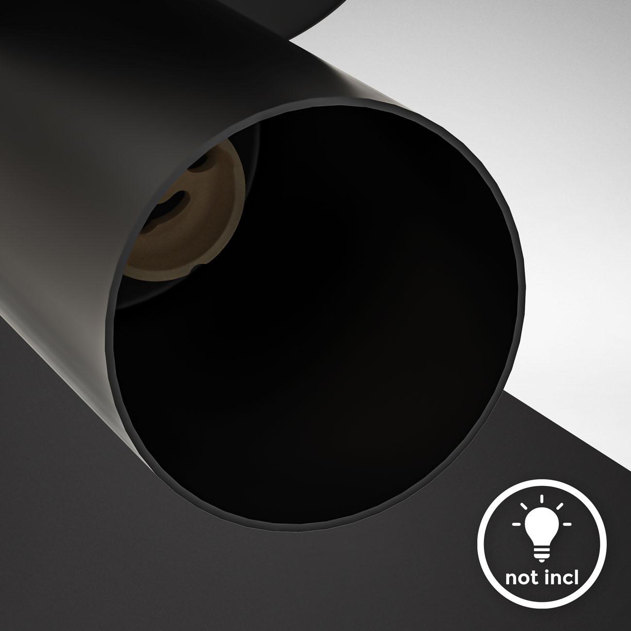 Deckenstrahler Deckenspot 1-flammig schwenkbar schwarz GU10 - 6