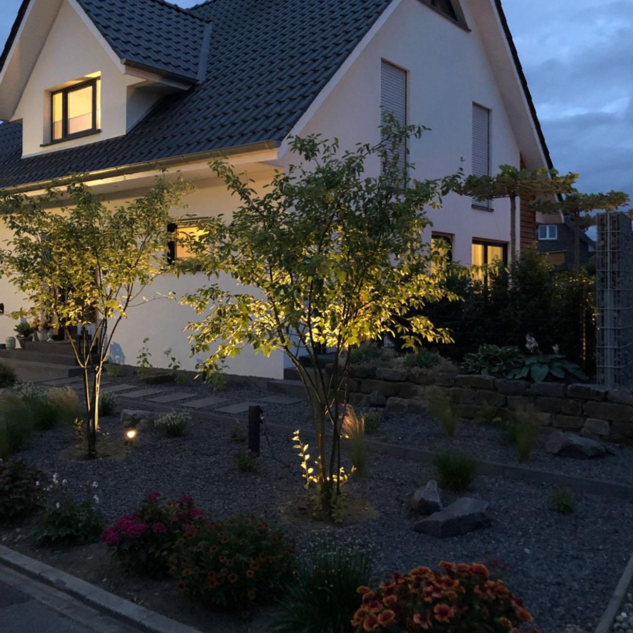 LED Erspieß Gartenstrahler IP44 | 2er Set - 2