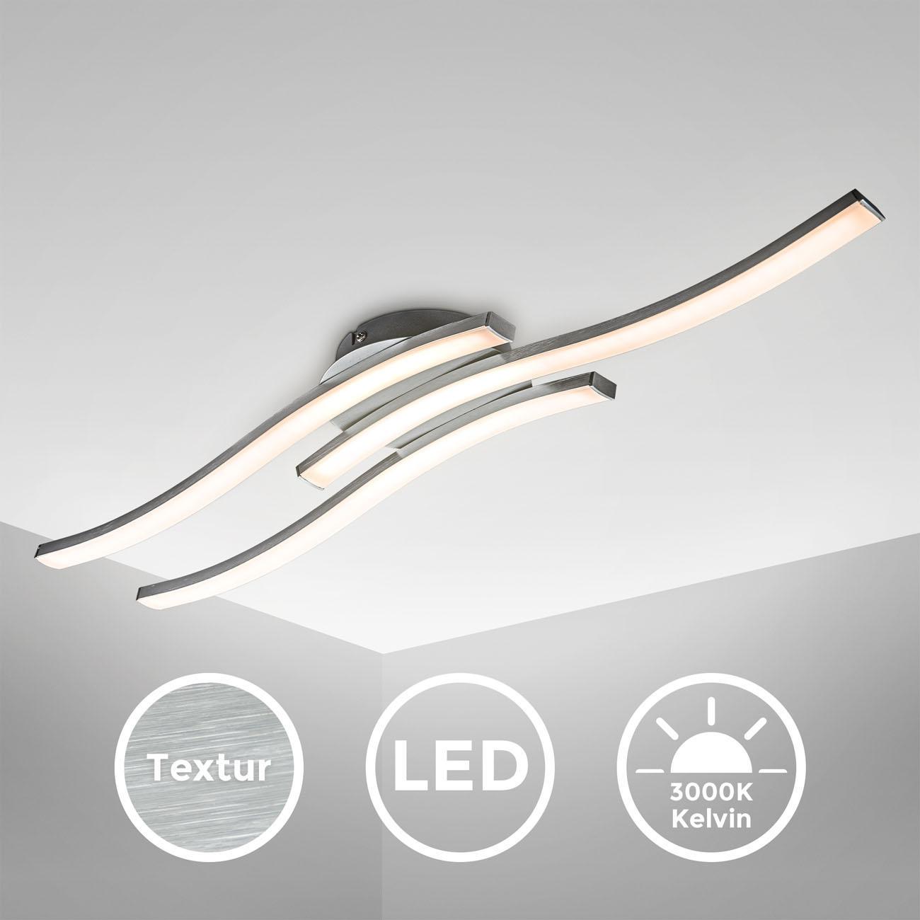 LED Design Deckenleuchte in Wellenform - 3