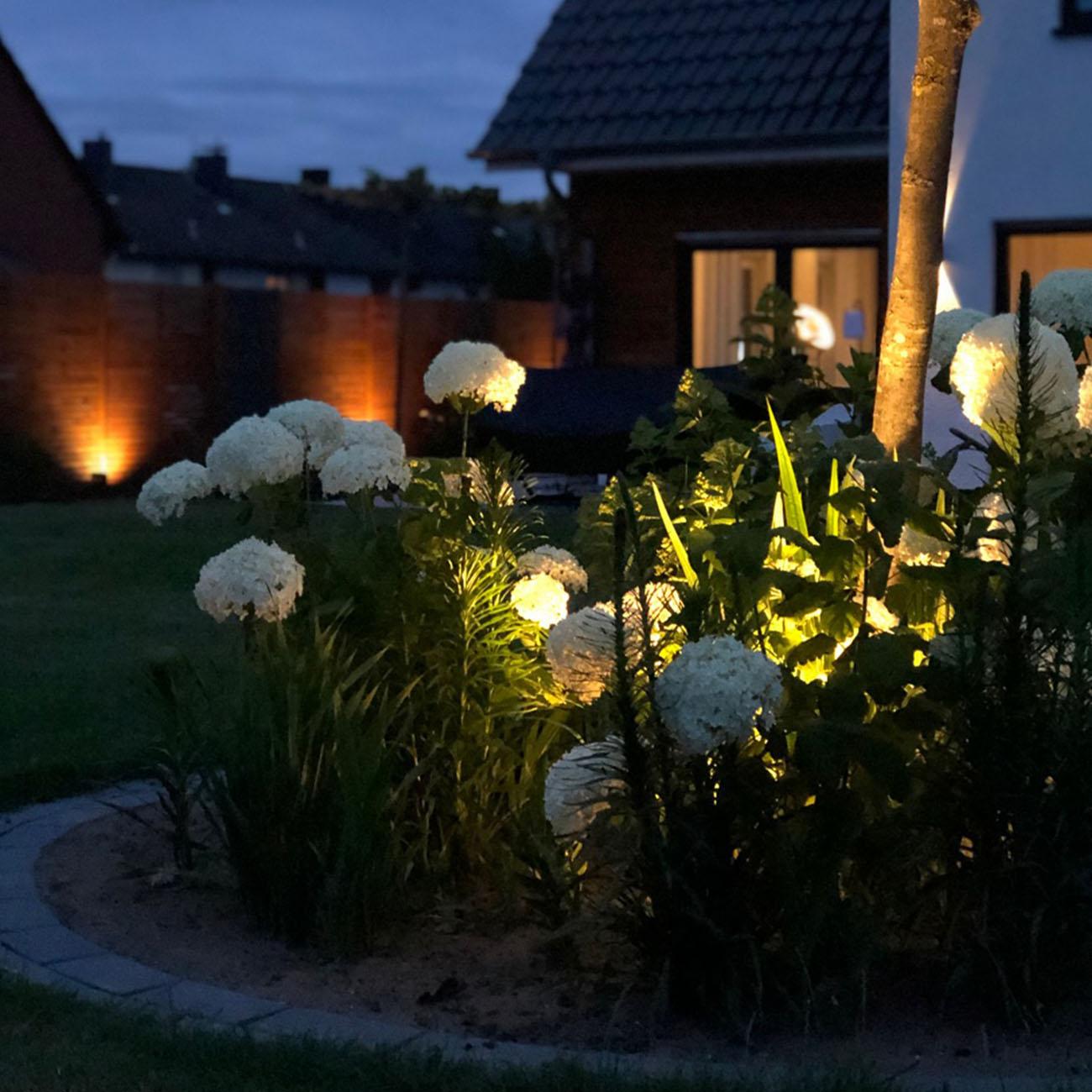 LED Erspieß Gartenstrahler IP44 | 2er Set - 9