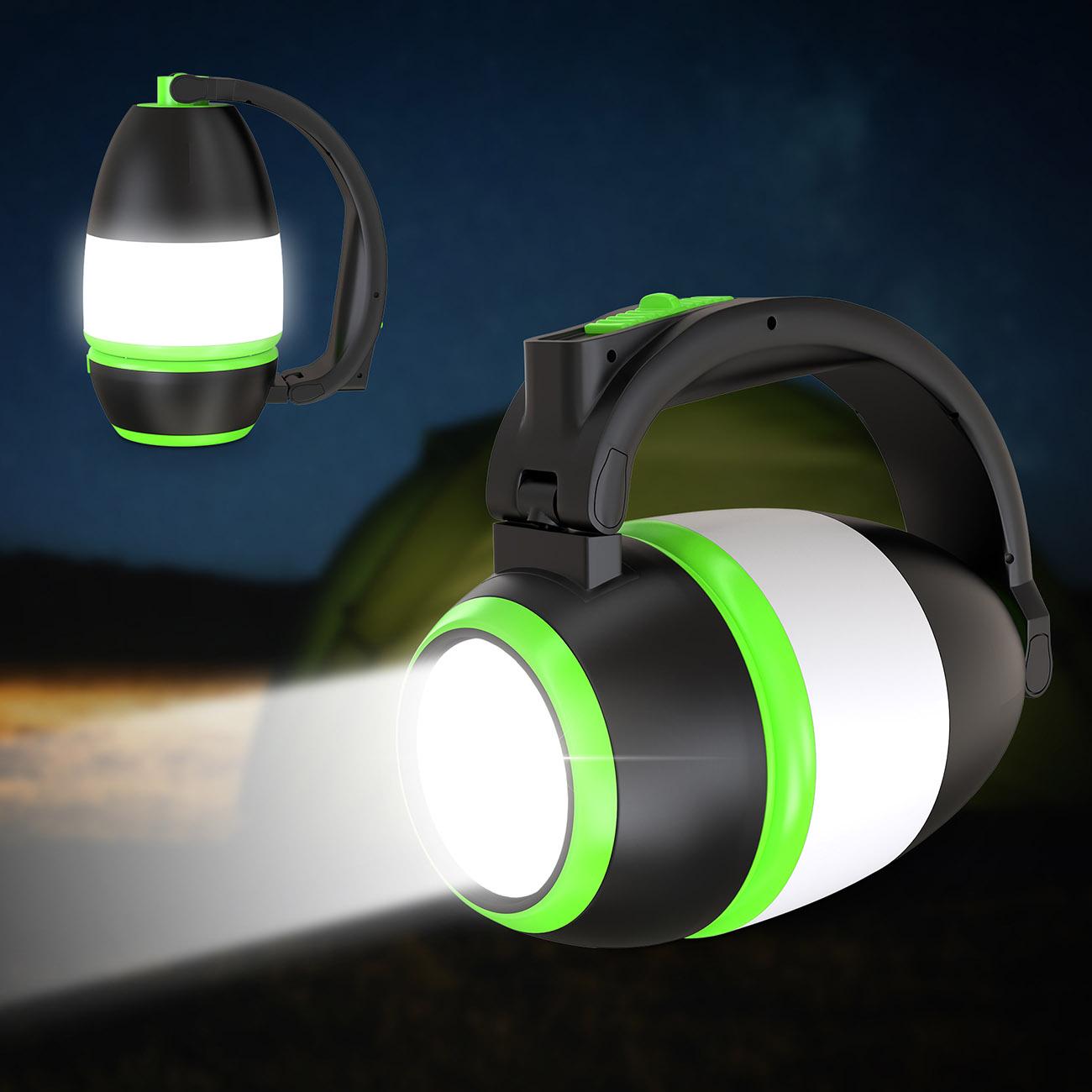 LED Campingleuchte ausklappbar