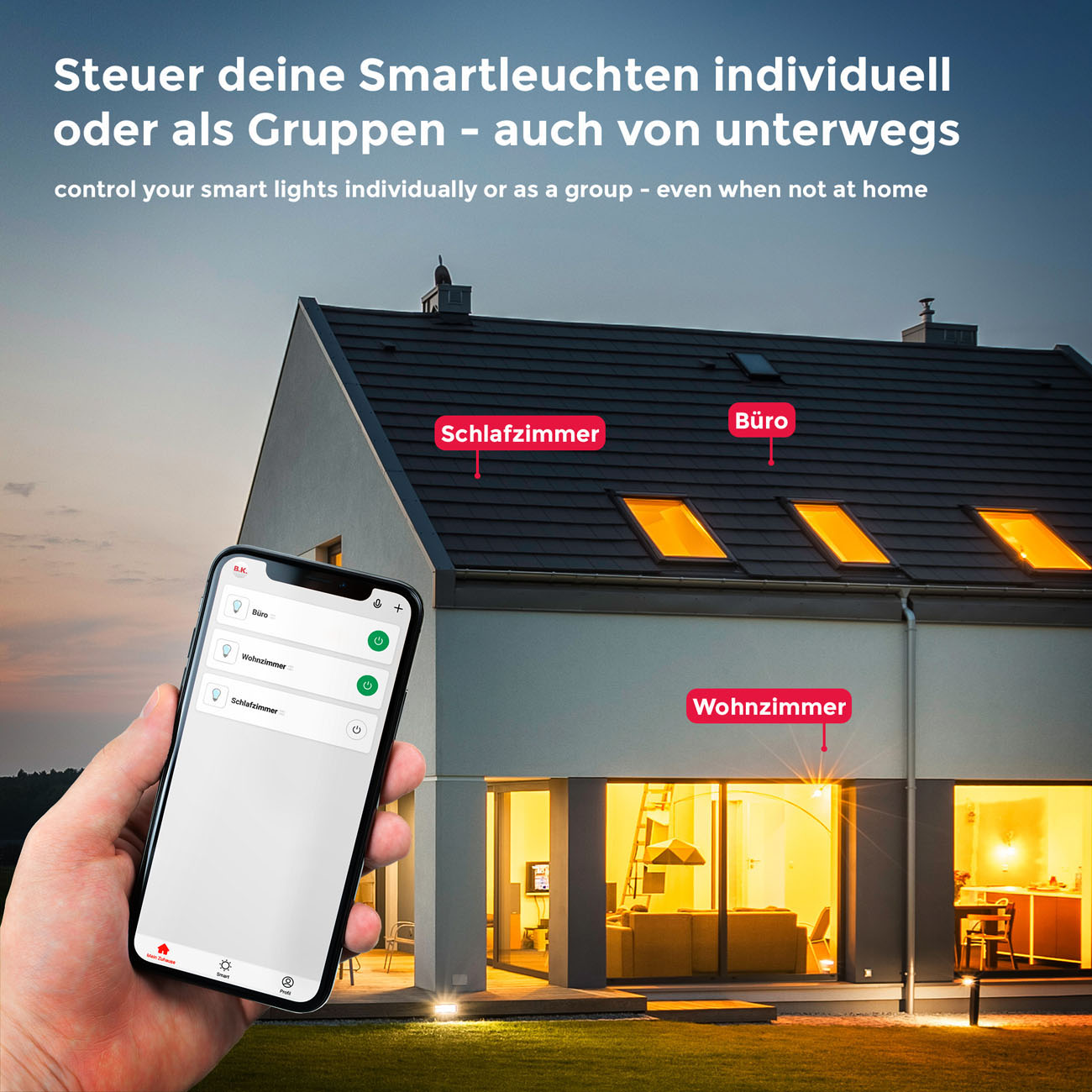 Smart WiFi LED RBG Stripe 5m - 7