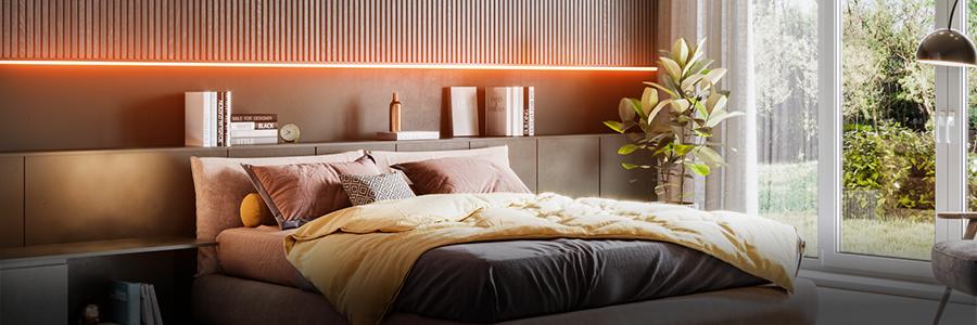 LED Bänder für das Schlafzimmer entdecken