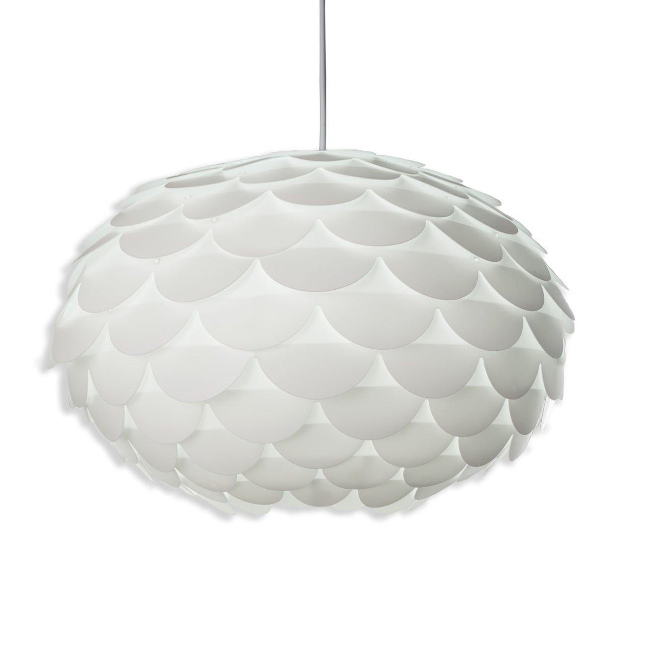Design DIY Pendelleuchte weiß E27