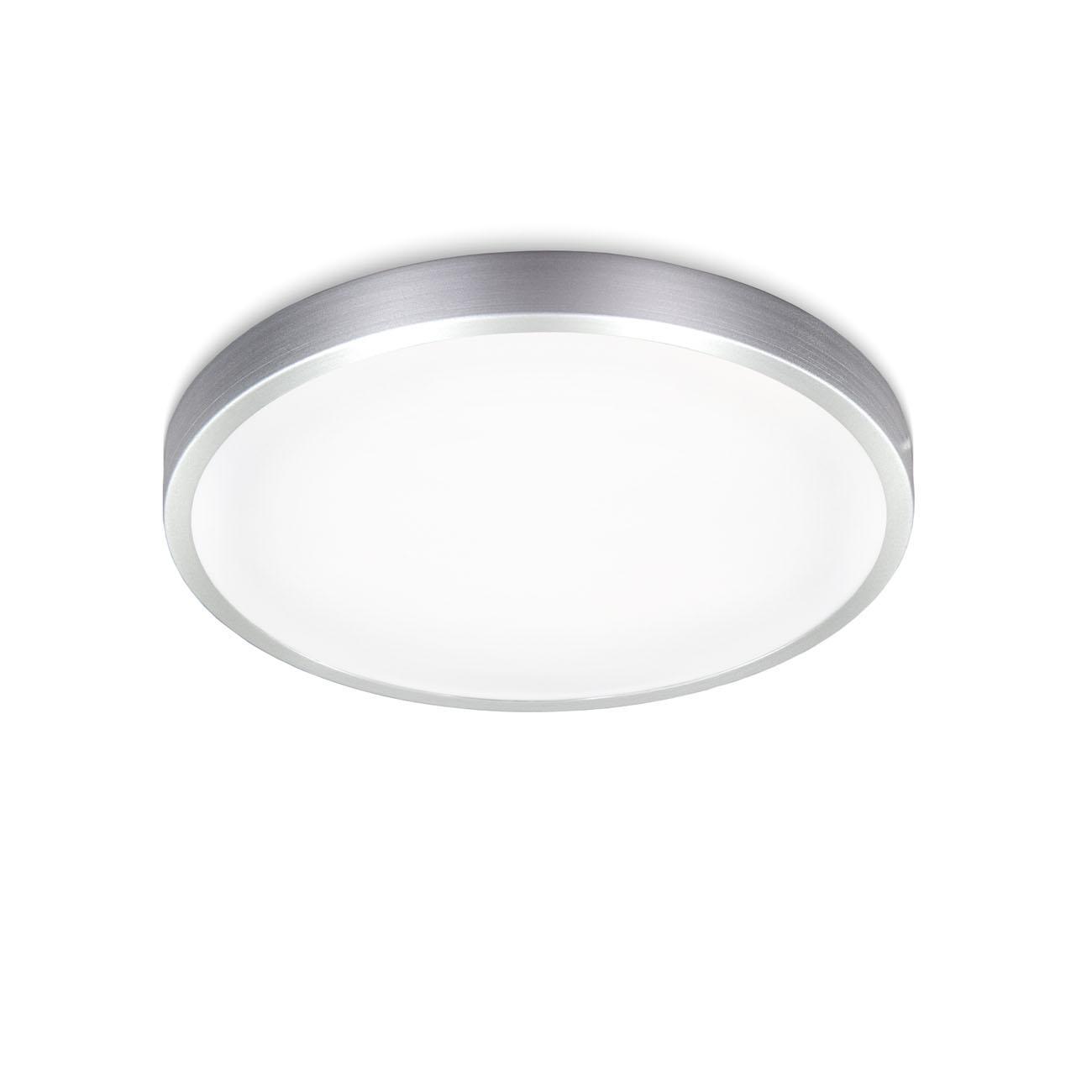 LED Deckenleuchte weiß-titan
