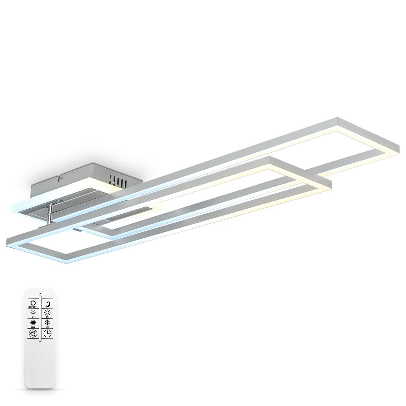 CCT LED Deckenleuchte mit Farbwechsel beleuchteter Baldachin