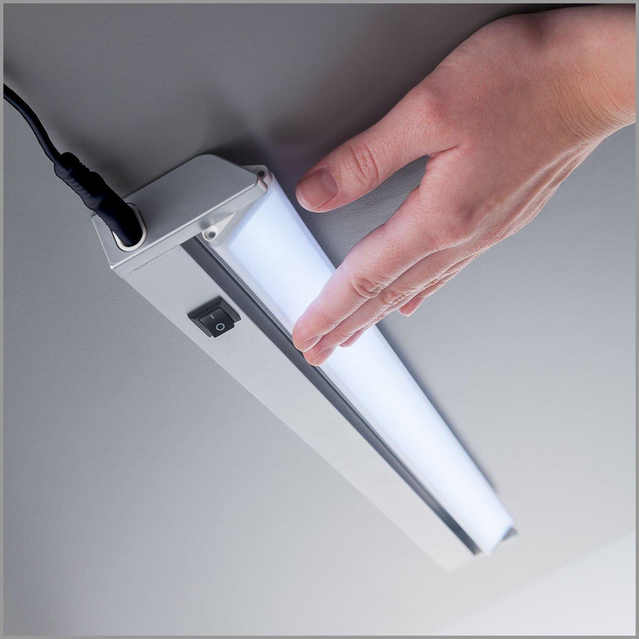 LED Schrankleuchte Unterbauleuchte silber-grau - 6