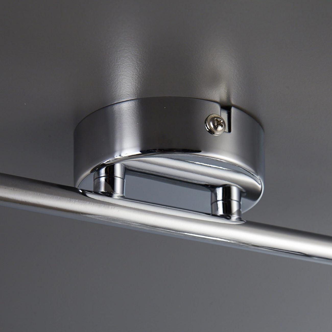 LED Design Deckenleuchte mit Glaskugeln 2-flammig - 7