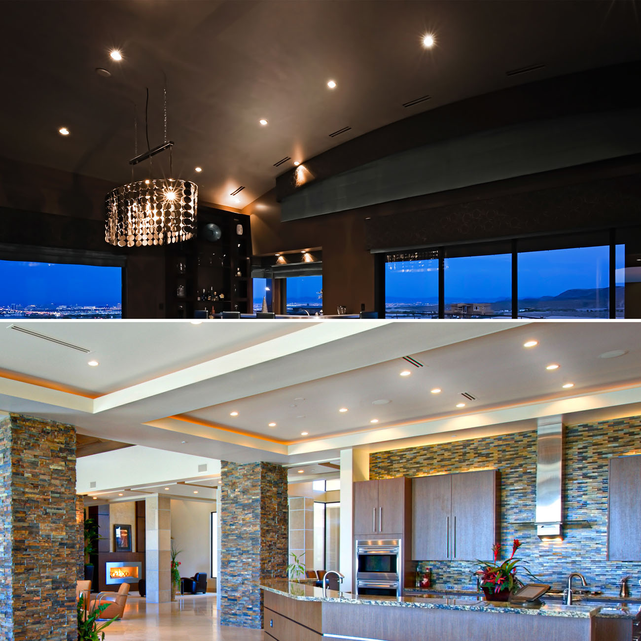 LED Einbaustrahler | Einbauleuchte 3er SET | ultra flach 5W schwenkbar dimmbar - 9