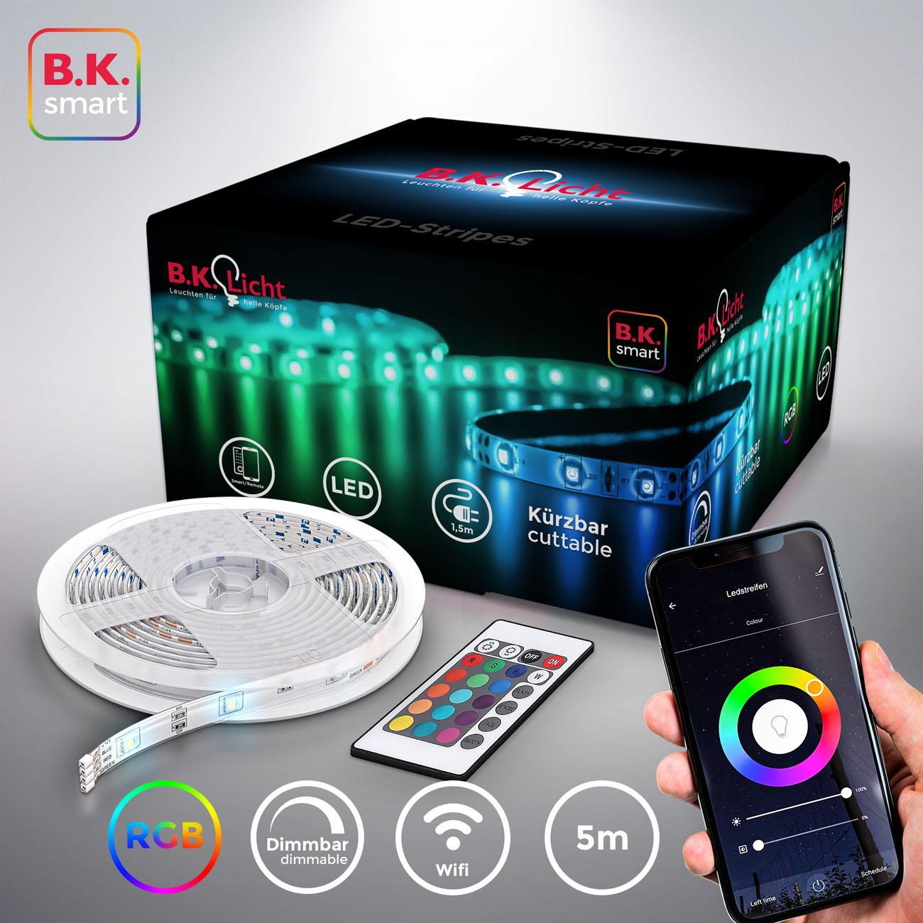 Smart WiFi LED RBG Stripe 5m - 3